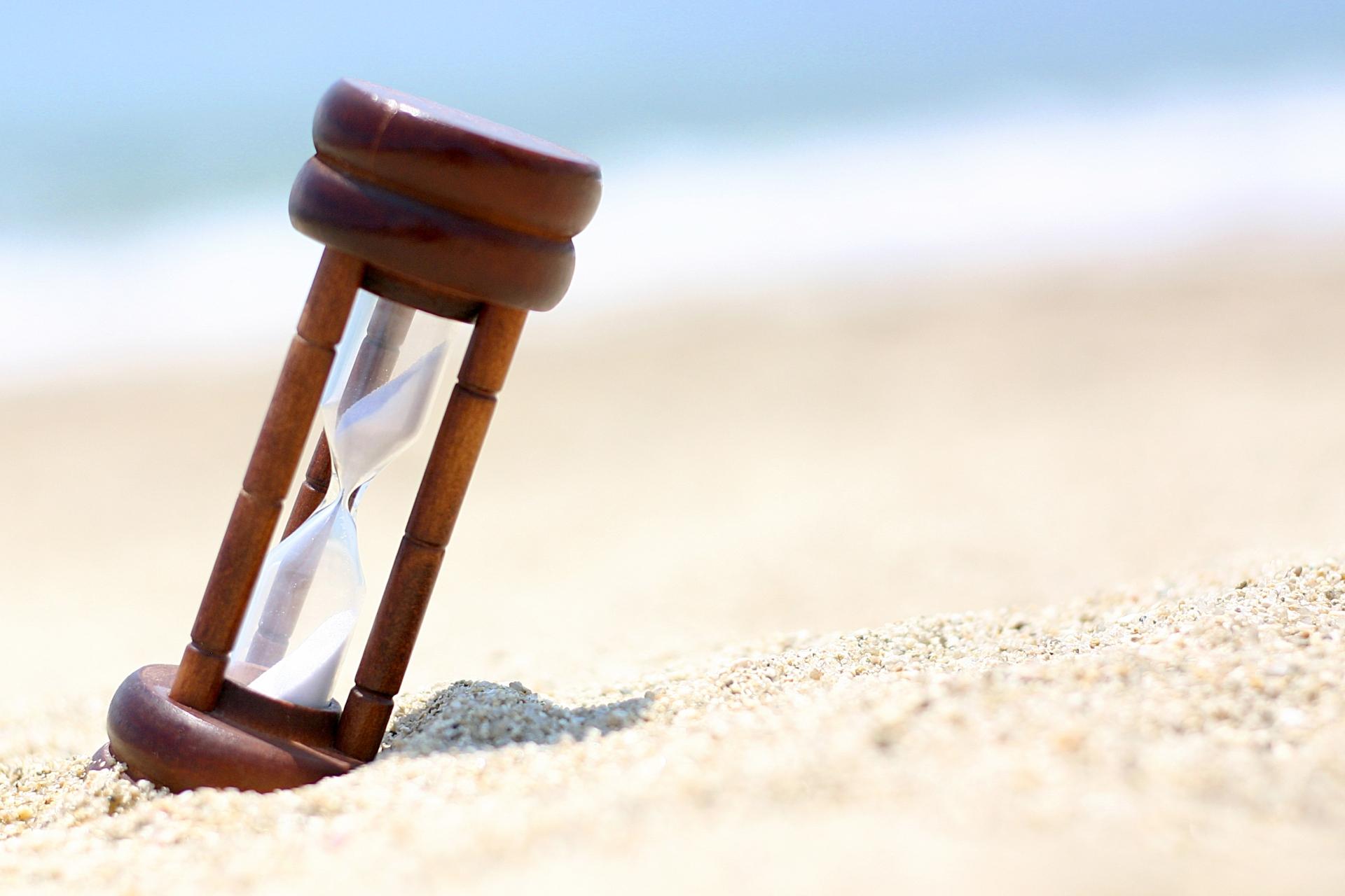 砂時計の画像です。