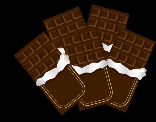 チョコレートの画像です。