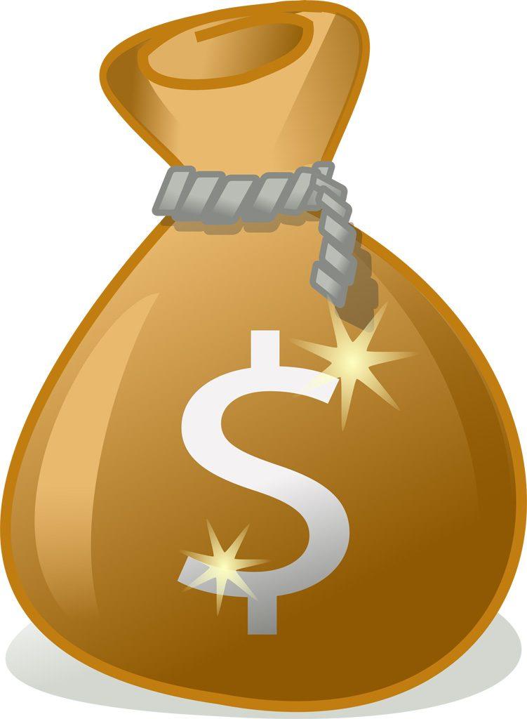お金の画像です。($)
