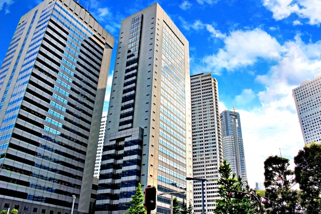 高層ビルの画像