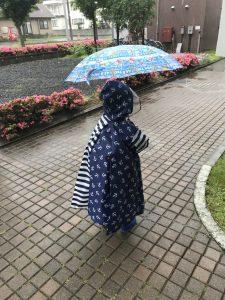 アツシとトーマスの傘