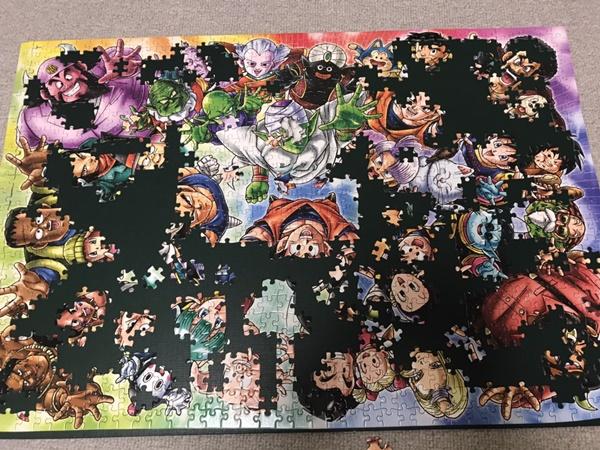 誕生日プレゼントのドラゴンボールのパズル
