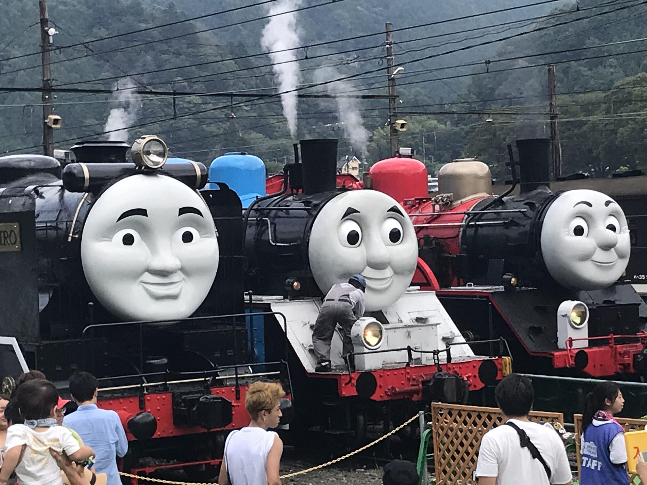 大井川鉄道のトーマス号